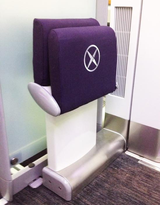 Heathrow Express Tip up seat