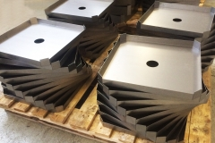 Fabricated trays