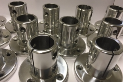 Grab pole castings